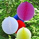 honeycomb tissue paper balls 8 50 13 80 11 37 14 07 honeycomb tissue