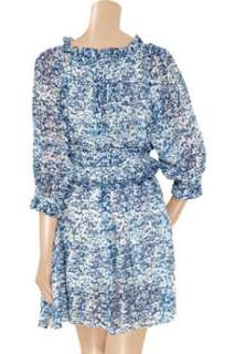 Étoile Isabel Marant Bell printed silk chiffon dress   65% Off Now at