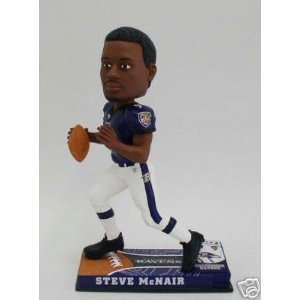 Steve Mcnair Baltimore Ravens Bobblehead Forever Collectibles: