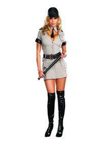 Sexy Corrections Officer Adult Womens Plus Costume