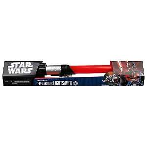 Star Wars Darth Vader Force Action Red Lightsaber with DVD