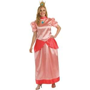 Super Mario Bros.   Princess Peach Adult Plus Costume, 69263