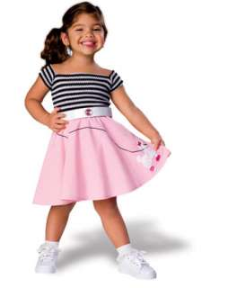 Toddler 50s Girl   Kids Costume   Infant/Toddler 50s Costumes