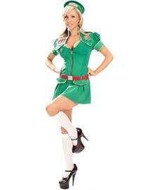 Sweet Camp Girl Adult Costume  Sexy Scout Costume