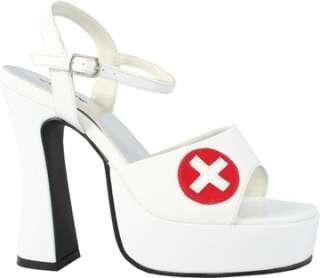 White Sexy Nurse Shoe (Accessories)