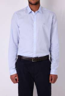 Pale Blue Gingham Check Shirt by Burberry Brit   Blue   Buy Shirts