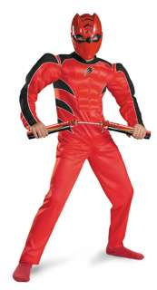 Child Red Ranger Muscle Costume   Power Rangers Costumes   15DG6935