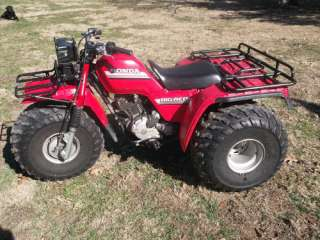 1985 Honda 250es Big Red Three Wheeler (NICE) 3 Wheeler in ATVs
