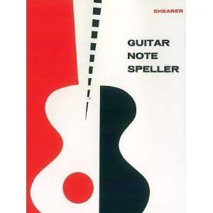 Guitar Note Speller [GUITAR NOTE SPELLER  OS] Books
