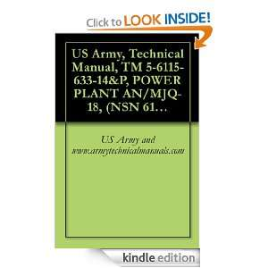 US Army, Technical Manual, TM 5 6115 633 14&P, POWER PLANT AN/MJQ 18