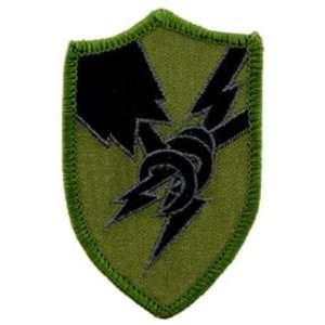 U.S. Army Security Agency Patch Green 3 Patio, Lawn