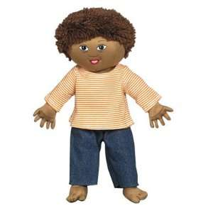 Factory CF100 631 Down Syndrome Light Brown Boy Doll Toys & Games