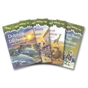 Magic Tree House Boxed Set, Books 9 12 Dolphins at