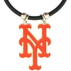 New York Mets Logo Pendant Necklace   MLB Baseball Fan