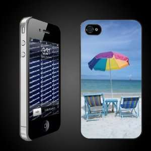 Beach Theme iPhone Case Designs Chairs on the Beach