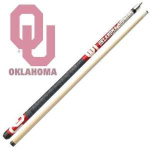 Oklahoma Sooners Officially Licensed Billiards Cue Stick by Frenzy
