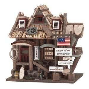 Wooden Restaurant Bird House 32187 by Koehler Patio, Lawn