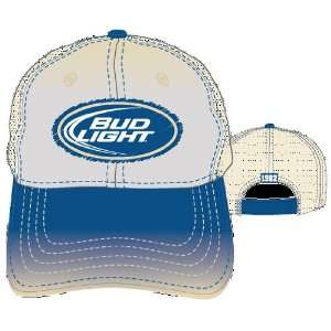 Bud Light King of Beers Navy Bill Trucker Over Stitch Cap Hat Toys