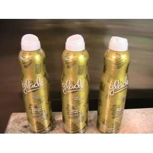 3 Cans Glade Winter Collection Spray   BAKED MAGIC