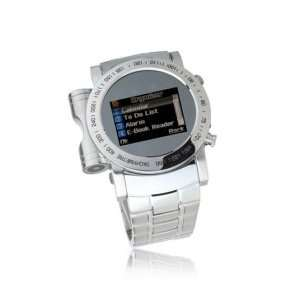 Cool Stainless Steel Touch Screen Watch Cell Phone Mobile Quad Band