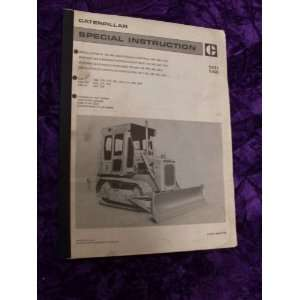 com Caterpillar 140/143 Instruction Installation Manual Caterpillar