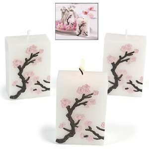 Cherry Blossom Candles   Party Decorations & Lamps