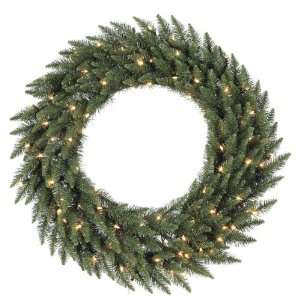 36 Pre Lit LED Camdon Fir Artificial Christmas Wreath