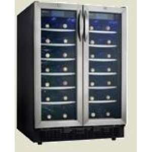 24 quot; Built in Dual Zone Wine Cellar with 54 Bottle