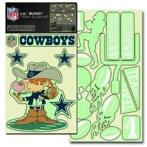 Dallas Cowboys Lil Buddy 20 Decal Glow Kit  Sports