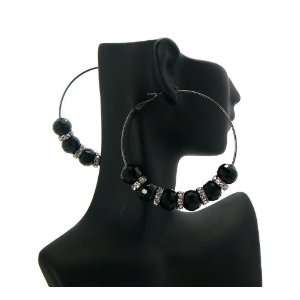 Basketball Wives PaParazzi Disco Ball & Ring Earrings BWE14HE Hematite