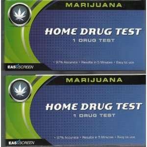 Easy Screen Marijuana Home Drug Test Kit 1 Per Box (2 Pack