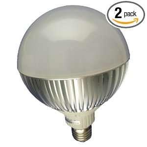 E27 2 Non Dimmable High Power 9 LED Par38 Lamp, 14 Watt Cold White, 2