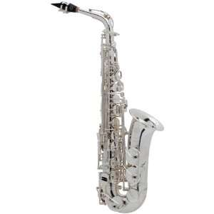 Paris Series Iii Silver plated Eb Alto Saxophone: Musical Instruments