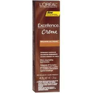 Loreal Excel Creme Extreme Browns Light Auburn Brown # BR