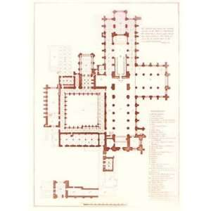 Chester Cathedral Floor Plan
