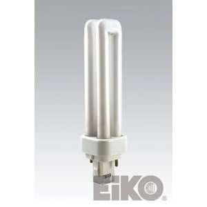 QT13/G24D1/35 Double Tube 2 Pin Base Compact Fluorescent Light Bulb