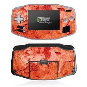 Design Skins for Nintendo Game Boy Advance   Verwitterte