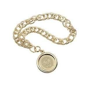 Wake Forest   Charm Bracelet   Gold