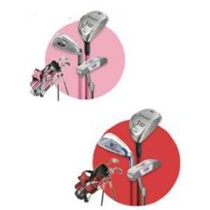 US Kids 3 Piece Golf Set With Stand Bag