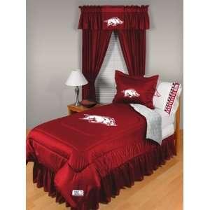 ARKANSAS RAZORBACKS LR (9) piece Bedroom Package