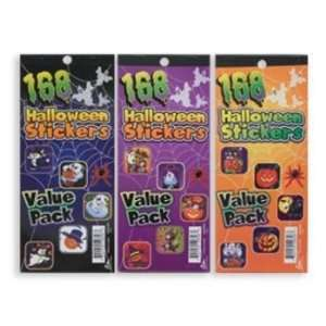 Value Pack   168 Halloween Stickers Case Pack 72