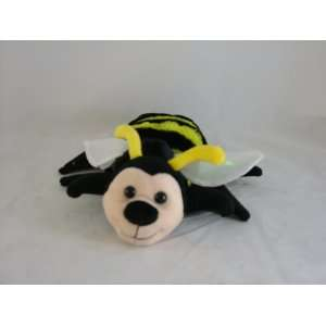 Bumble Bee Plush Glove Hand Puppet: Office Products