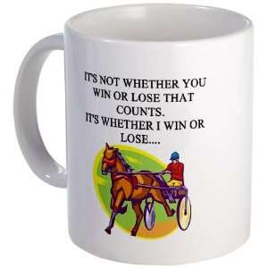 harness racing Funny Mug by CafePress Kitchen & Dining