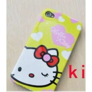 Hello Kitty Premium Hard Full Cover Case for At&t Iphone 4