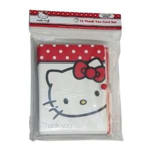Hello Kitty Thank You Card Set Toys & Games