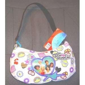 High School Musical Hobo Bag Purse Pocketbook White