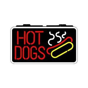 Hot Dogs Backlit Sign 13 x 24