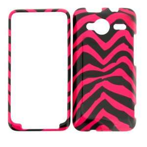 HTC EVO Shift 4G (Sprint) PINK ZEBRA COVER CASE Hard Case