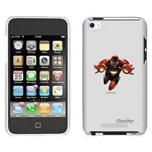 Iron Man Two Hands on iPod Touch 4 Gumdrop Air Shell Case