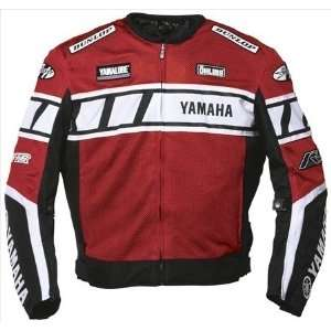 Joe Rocket Yamaha Champion Mesh Jacket   X Large/Red/Black